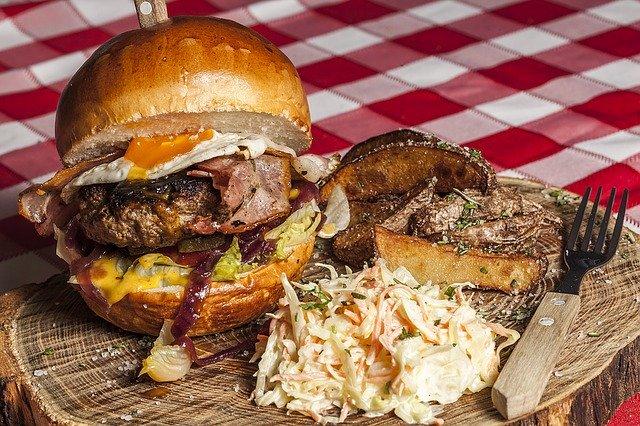 hamburger keto